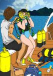 Scuba Diving by kucing