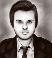 Spencer Smith portrait by Confectionery