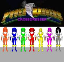 Crossdresser Power Rangers - 2 by lurdpabl