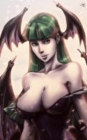 Morrigan Aensland by Twilit-Arawen