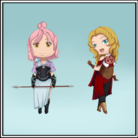 [FE: Fates OCs] Chibi designs by Plantress