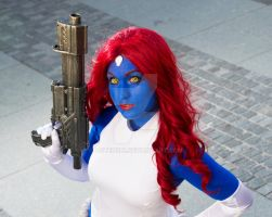 Mystique- Comic version by Aotenshi