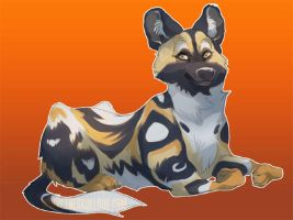 African Wild Dog by skulldog
