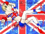 England Pin Up Poster - APH by KingdomKeyblade
