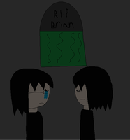 Alucard And Sheila In Brian's Funeral by LadyCatgirl