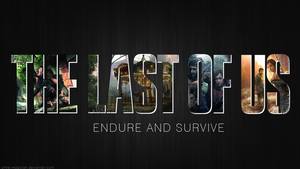 The Last of Us - Logo Wallpaper by White-Magician