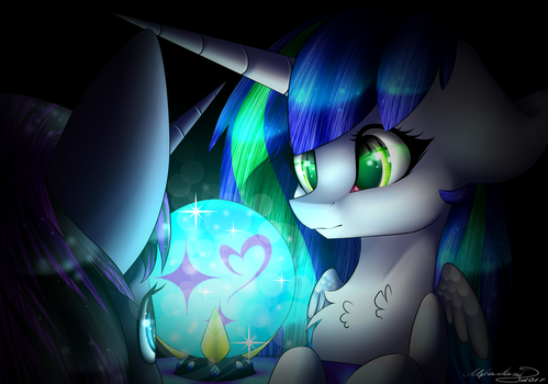 Discovering myself by TheMagicFantasy