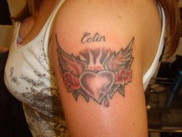 Tattoo for Colin by GetSomeInk