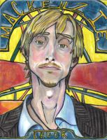 Mackenzie Crook Art Nouveau by moniquej