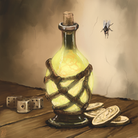 The Magic Potion by Crowsrock