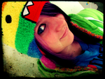 Rainbow Domo Hat by Near-X-Rukia