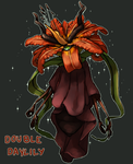 Double Daylily flower witch - DTA (closed) by Malusdraco