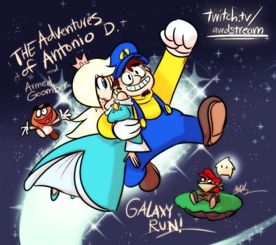 Super Mario Galaxy Stream by AndrewDickman