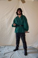 Male Rogue Full Body Stock 21 by FairieGoodMother