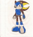 Request #2: Krockomodo(2): Arrazatash The Hedgehog by Morpheus-the-dog