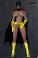 BatGirl Uncovered by XSkullheadX