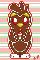 Gingerbread Penguin by OEmilyThePenguinO