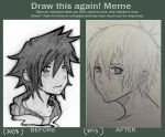 Draw This Again Meme by ondeko