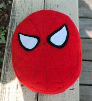 Spiderman Pillow Plush by BeeZee-Art