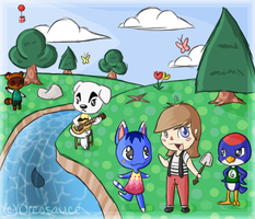 Animal Crossing: New Leaf by Beetleflight