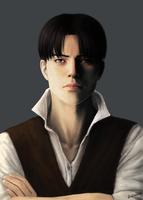 Realistic Levi by Dinklebert