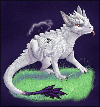 Talc Dragon by nepryne