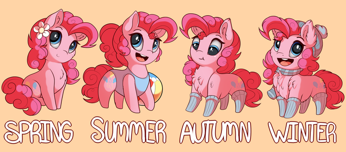 Seasons of Ponka by Evehly