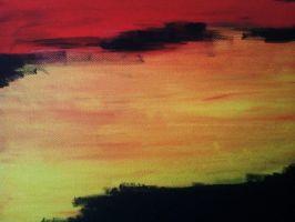 Untitled abstract painting 4 by mekkasop