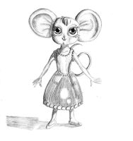 Lady Mouse by JesperHarming