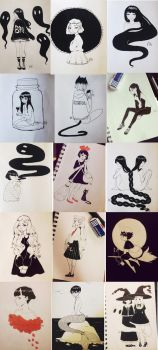 Inktober 2014 Compilation by Radio-Aktive