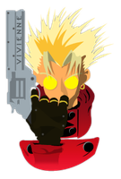 Trigun Vector Tag by Rayfe