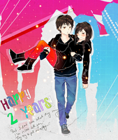 Two years by Tokikow