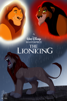 Lion King Cover Re-Design by Artistic-Demise