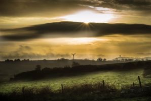 County Down Sunrise by HarveyGrissom