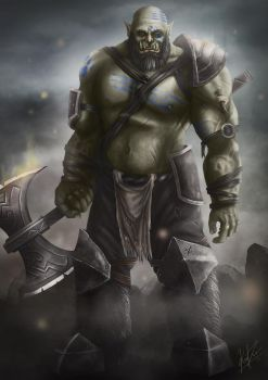 Orc by Karlingvarsson