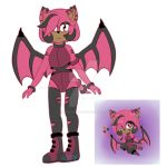 Sheena the bat- hedgebat? dunno- by Tiffany-the-hedgieX3