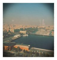 Barca From the Sky by TheNewBlueBlood