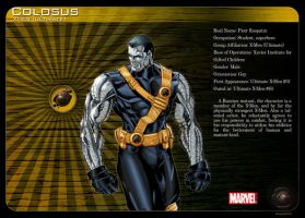 Gay Superheroes: Colossus by mongski