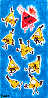 Bill Cipher. by SRZ-Nuaro