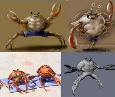 crab-design and 3d by fernandofaria