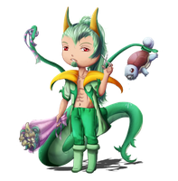PC: chibi Serperior Aaron's relations by Sylvestrial