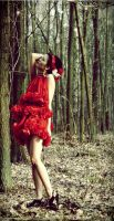 Red dress...roses II by TwISHH