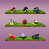 Sports Games by marh333