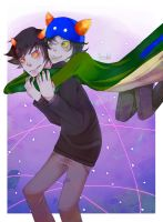 RQ- Karkat and Nepeta by TheHouseKat