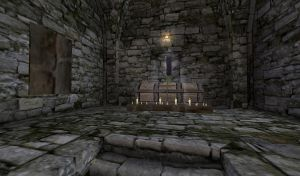 Veluca, the Resting Place of Santiago - Interior by Zenoxen
