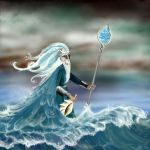 Ulmo-Lord of the Water by starfishenterprise