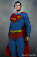 Superman by vilmur