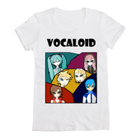 Vocaloid T-shirt design by SkeleQueen