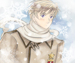 APH : A Face in the Snow by kahochanlenkunlovers