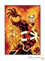 Firestorm by angryf